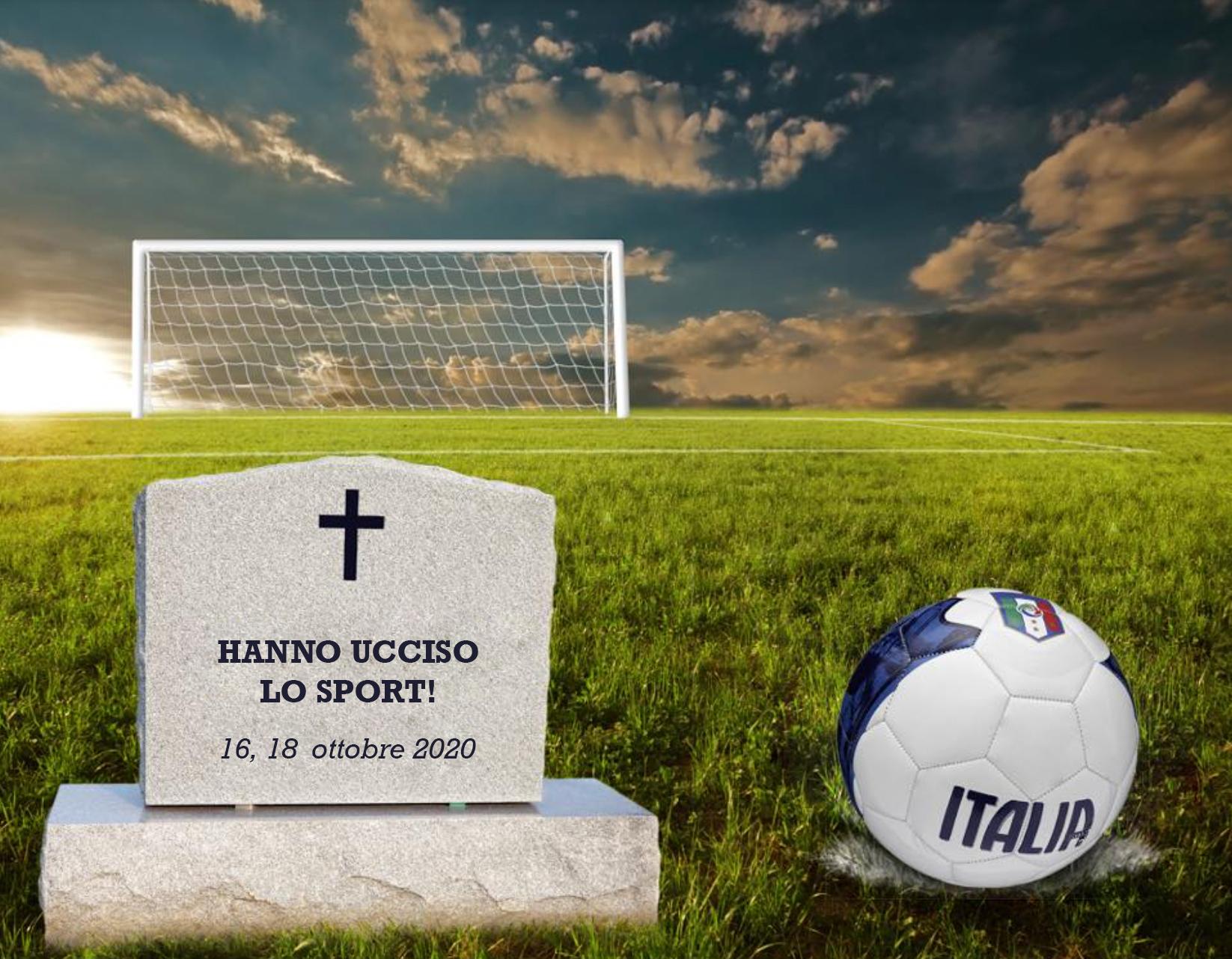 Hanno ucciso lo sport